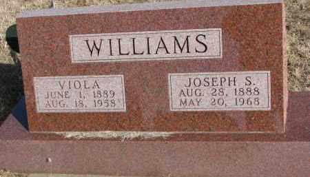 WILLIAMS, VIOLA - Burt County, Nebraska | VIOLA WILLIAMS - Nebraska Gravestone Photos