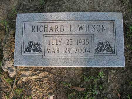 WILSON, RICHARD L. - Burt County, Nebraska   RICHARD L. WILSON - Nebraska Gravestone Photos