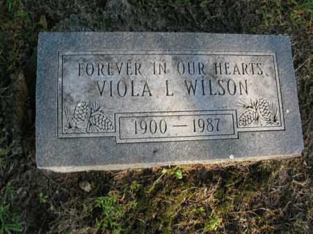 WILSON, VIOLA L. - Burt County, Nebraska | VIOLA L. WILSON - Nebraska Gravestone Photos