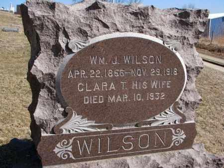 WILSON, CLARA T. - Burt County, Nebraska | CLARA T. WILSON - Nebraska Gravestone Photos
