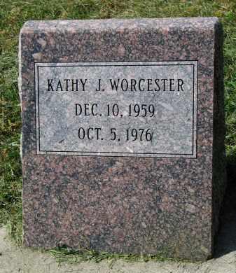 WORCESTER, KATHY J. - Burt County, Nebraska | KATHY J. WORCESTER - Nebraska Gravestone Photos
