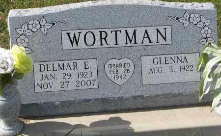 WORTMAN, DELMAR E. - Burt County, Nebraska | DELMAR E. WORTMAN - Nebraska Gravestone Photos