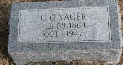 YAGER, C.O. - Burt County, Nebraska | C.O. YAGER - Nebraska Gravestone Photos