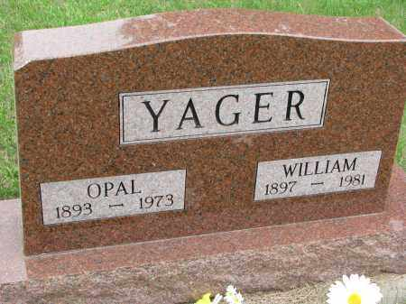 YAGER, OPAL - Burt County, Nebraska | OPAL YAGER - Nebraska Gravestone Photos