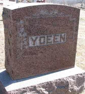YDEEN, FAMILY STONE - Burt County, Nebraska   FAMILY STONE YDEEN - Nebraska Gravestone Photos