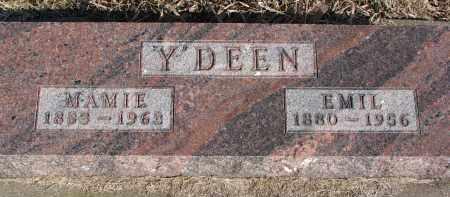 Y'DEEN, MAMIE - Burt County, Nebraska | MAMIE Y'DEEN - Nebraska Gravestone Photos