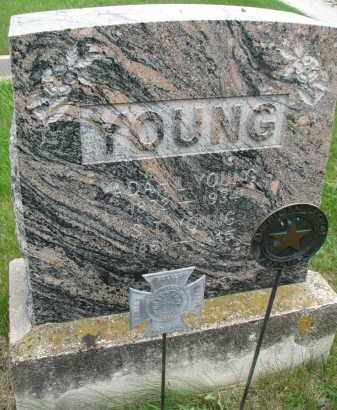 YOUNG, ADAH L. - Burt County, Nebraska | ADAH L. YOUNG - Nebraska Gravestone Photos