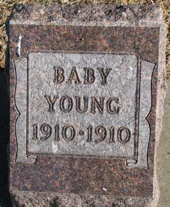 YOUNG, BABY - Burt County, Nebraska   BABY YOUNG - Nebraska Gravestone Photos