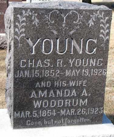 YOUNG, CHARLES F. - Burt County, Nebraska | CHARLES F. YOUNG - Nebraska Gravestone Photos
