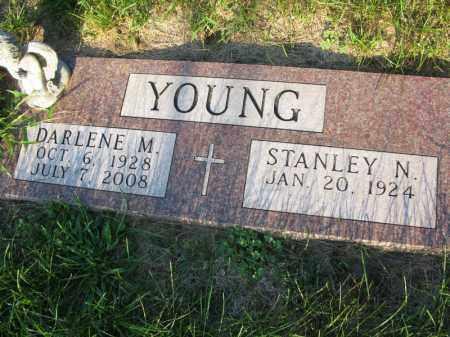 YOUNG, DARLENE M. - Burt County, Nebraska | DARLENE M. YOUNG - Nebraska Gravestone Photos
