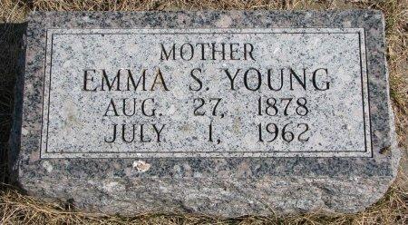 YOUNG, EMMA  - Burt County, Nebraska | EMMA  YOUNG - Nebraska Gravestone Photos