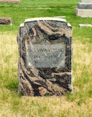 YOUNG, GUSTAVA - Burt County, Nebraska | GUSTAVA YOUNG - Nebraska Gravestone Photos