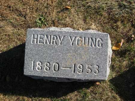 YOUNG, HENRY - Burt County, Nebraska   HENRY YOUNG - Nebraska Gravestone Photos