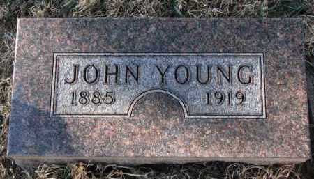 YOUNG, JOHN - Burt County, Nebraska | JOHN YOUNG - Nebraska Gravestone Photos