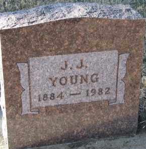 YOUNG, J.J. - Burt County, Nebraska | J.J. YOUNG - Nebraska Gravestone Photos