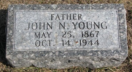 YOUNG, JOHN N. - Burt County, Nebraska | JOHN N. YOUNG - Nebraska Gravestone Photos