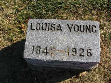 YOUNG, LOUISA - Burt County, Nebraska | LOUISA YOUNG - Nebraska Gravestone Photos