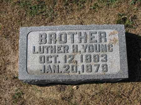 YOUNG, LUTHER H. - Burt County, Nebraska | LUTHER H. YOUNG - Nebraska Gravestone Photos
