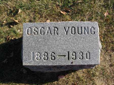 YOUNG, OSCAR - Burt County, Nebraska   OSCAR YOUNG - Nebraska Gravestone Photos