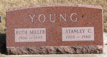 YOUNG, STANLEY C. - Burt County, Nebraska | STANLEY C. YOUNG - Nebraska Gravestone Photos
