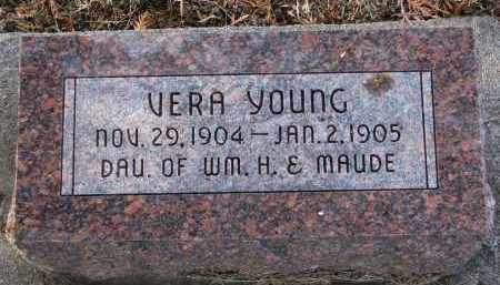 YOUNG, VERA - Burt County, Nebraska | VERA YOUNG - Nebraska Gravestone Photos