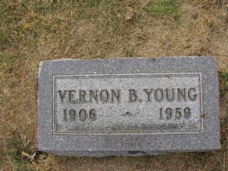 YOUNG, VERNON B. - Burt County, Nebraska | VERNON B. YOUNG - Nebraska Gravestone Photos