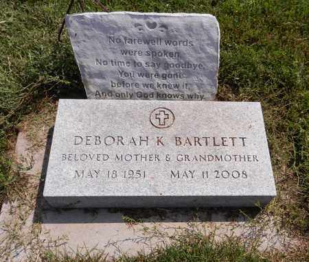 BARTLETT, DEBORAH K - Butler County, Nebraska   DEBORAH K BARTLETT - Nebraska Gravestone Photos