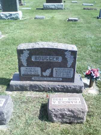 BOUGGER, AUGUSTINE - Butler County, Nebraska   AUGUSTINE BOUGGER - Nebraska Gravestone Photos
