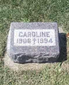 BOUGGER, CAROLINE - Butler County, Nebraska   CAROLINE BOUGGER - Nebraska Gravestone Photos