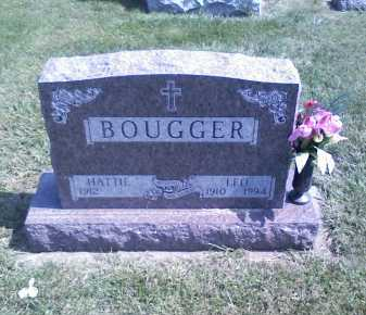 BOUGGER, HATTIE - Butler County, Nebraska | HATTIE BOUGGER - Nebraska Gravestone Photos
