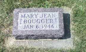 BOUGGER, MARY JEAN - Butler County, Nebraska | MARY JEAN BOUGGER - Nebraska Gravestone Photos