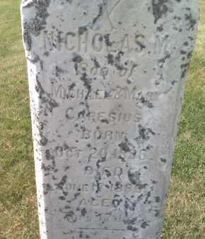 CAPESIUS, NICHOLAS - Butler County, Nebraska | NICHOLAS CAPESIUS - Nebraska Gravestone Photos