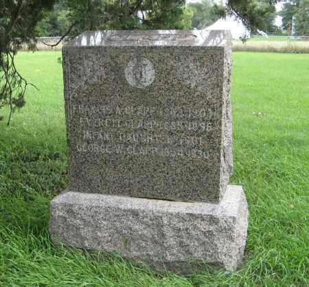 CLAPP, GEORGE W - Butler County, Nebraska | GEORGE W CLAPP - Nebraska Gravestone Photos