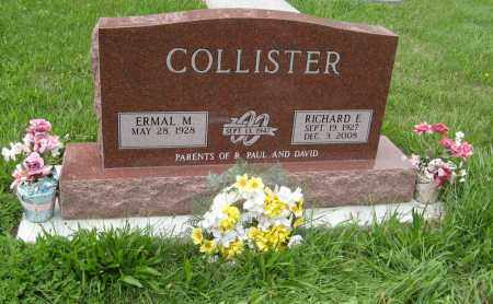 COLLISTER, RICHARD E. - Butler County, Nebraska | RICHARD E. COLLISTER - Nebraska Gravestone Photos
