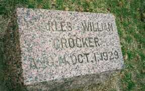 CROCKER, CHARLES WILLIAM - Butler County, Nebraska | CHARLES WILLIAM CROCKER - Nebraska Gravestone Photos