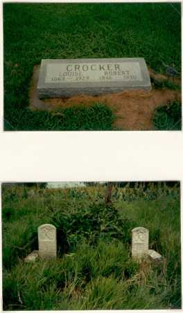 CROCKER, ROBERT BRUCE - Butler County, Nebraska | ROBERT BRUCE CROCKER - Nebraska Gravestone Photos