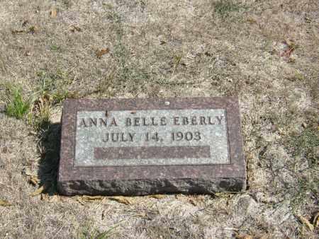 EBERLY, ANNA BELLE - Butler County, Nebraska | ANNA BELLE EBERLY - Nebraska Gravestone Photos