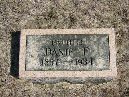 EBERLY, DANIEL F - Butler County, Nebraska | DANIEL F EBERLY - Nebraska Gravestone Photos