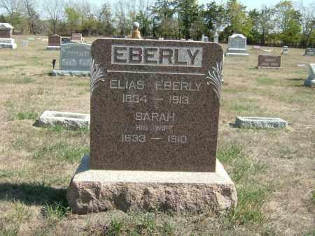 EBERLY, ELIAS - Butler County, Nebraska | ELIAS EBERLY - Nebraska Gravestone Photos