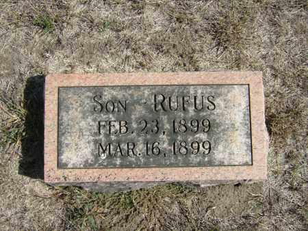 EBERLY, RUFUS - Butler County, Nebraska   RUFUS EBERLY - Nebraska Gravestone Photos