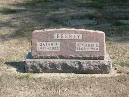 EBERLY, SARAH S - Butler County, Nebraska | SARAH S EBERLY - Nebraska Gravestone Photos