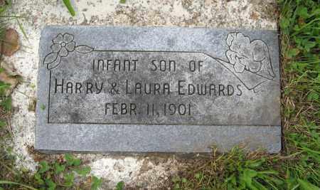 EDWARDS, (INFANT SON) - Butler County, Nebraska   (INFANT SON) EDWARDS - Nebraska Gravestone Photos
