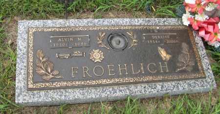 FROEHLICH, DERRISE - Butler County, Nebraska | DERRISE FROEHLICH - Nebraska Gravestone Photos
