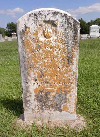 GREEN, S. D. - Butler County, Nebraska | S. D. GREEN - Nebraska Gravestone Photos