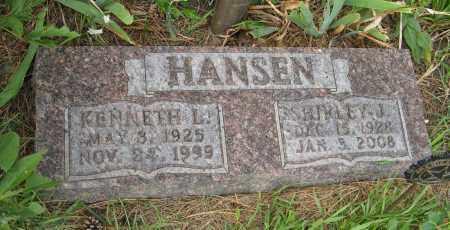 HANSEN, SHIRLEY J. - Butler County, Nebraska | SHIRLEY J. HANSEN - Nebraska Gravestone Photos