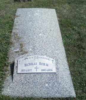 HEIN, NICHOLAS - Butler County, Nebraska | NICHOLAS HEIN - Nebraska Gravestone Photos