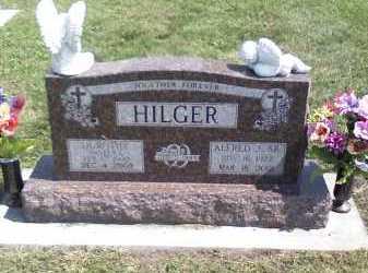 HILGER, ALFRED - Butler County, Nebraska   ALFRED HILGER - Nebraska Gravestone Photos