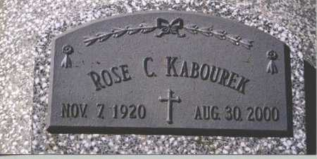 KABOUREK, ROSE C. - Butler County, Nebraska | ROSE C. KABOUREK - Nebraska Gravestone Photos