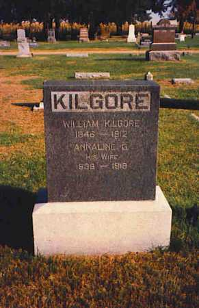 KILGORE, WILLIAM - Butler County, Nebraska | WILLIAM KILGORE - Nebraska Gravestone Photos