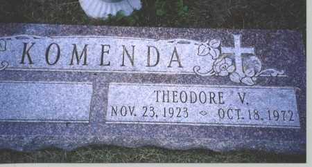KOMENDA, THEODORE V. - Butler County, Nebraska   THEODORE V. KOMENDA - Nebraska Gravestone Photos